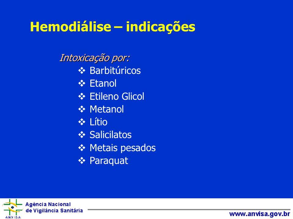 Hemodiálise – indicações