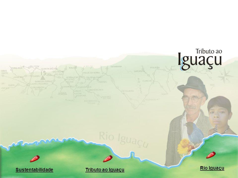 Rio Iguaçu Sustentabilidade Tributo ao Iguaçu