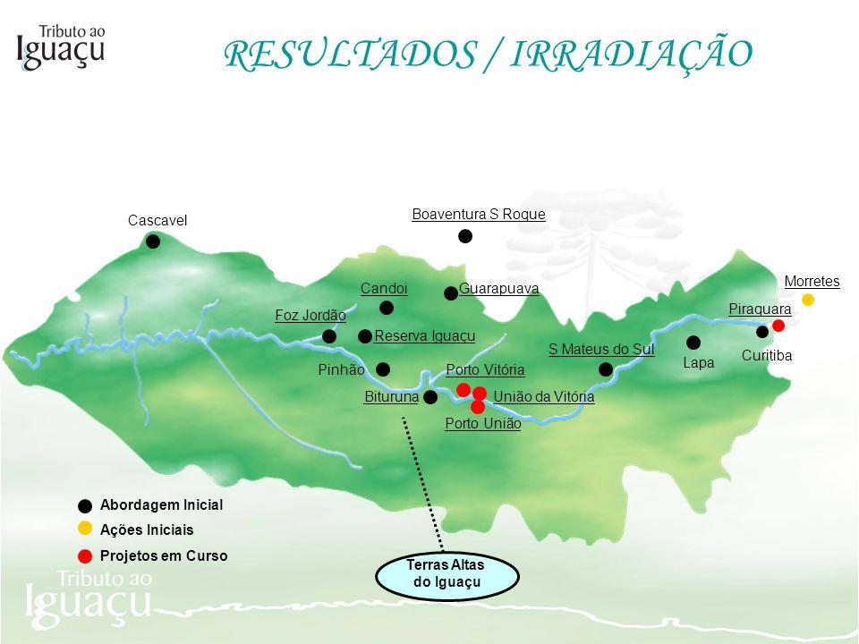 RESULTADOS / IRRADIAÇÃO