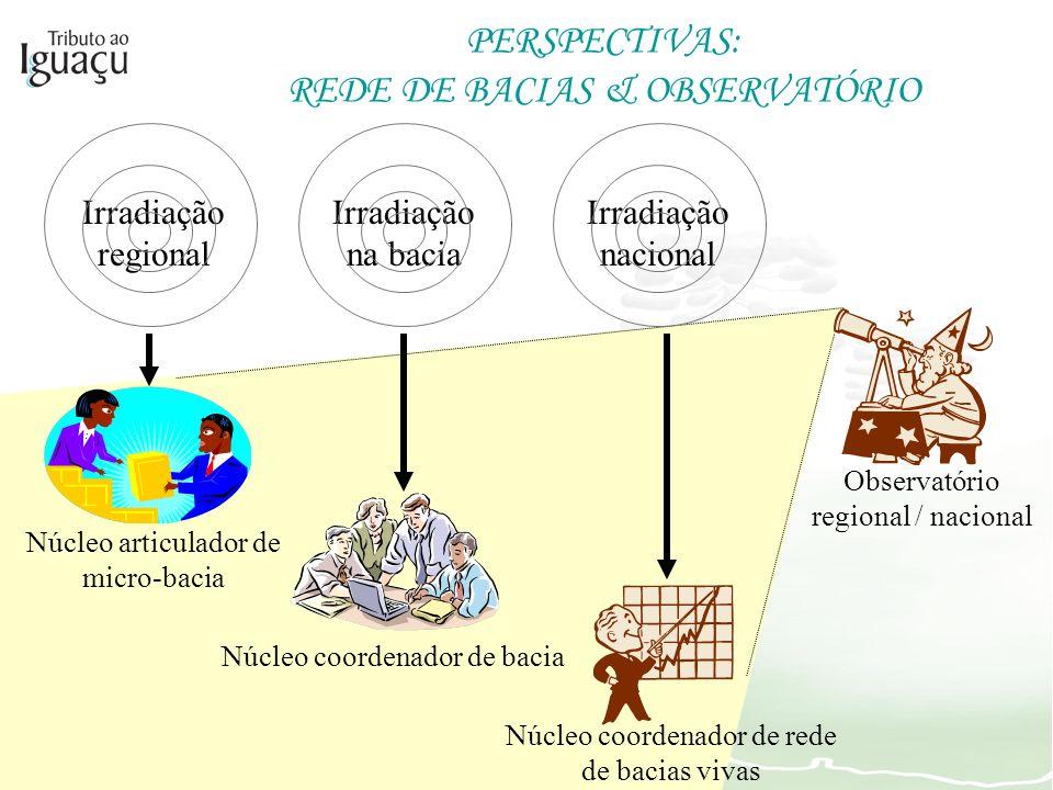 PERSPECTIVAS: REDE DE BACIAS & OBSERVATÓRIO