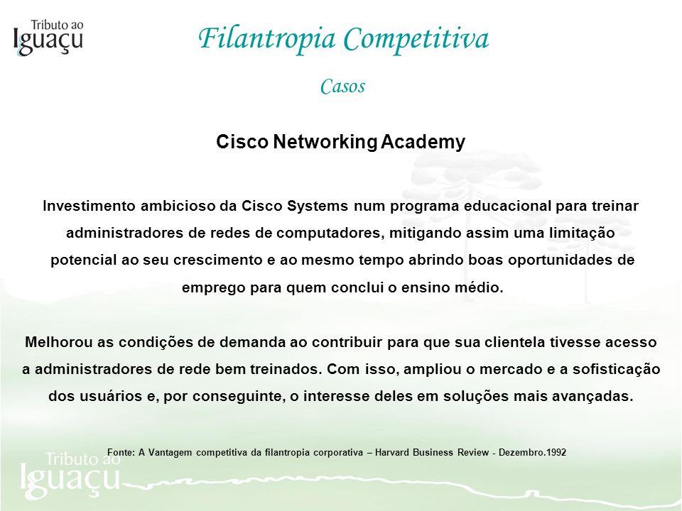 Cisco Networking Academy emprego para quem conclui o ensino médio.