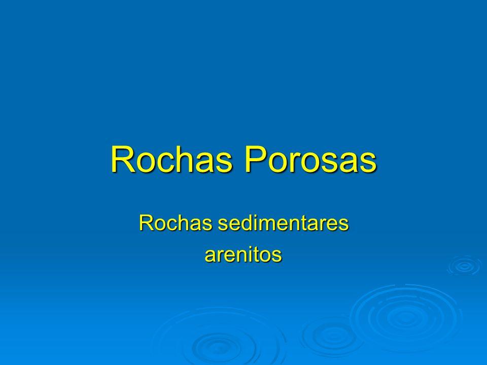 Rochas sedimentares arenitos