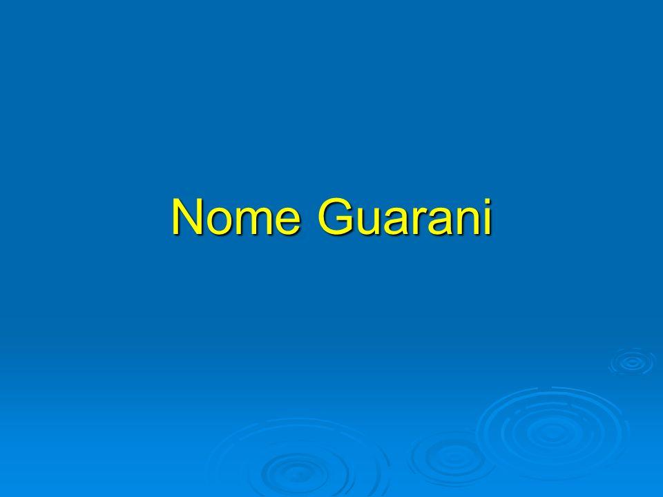Nome Guarani