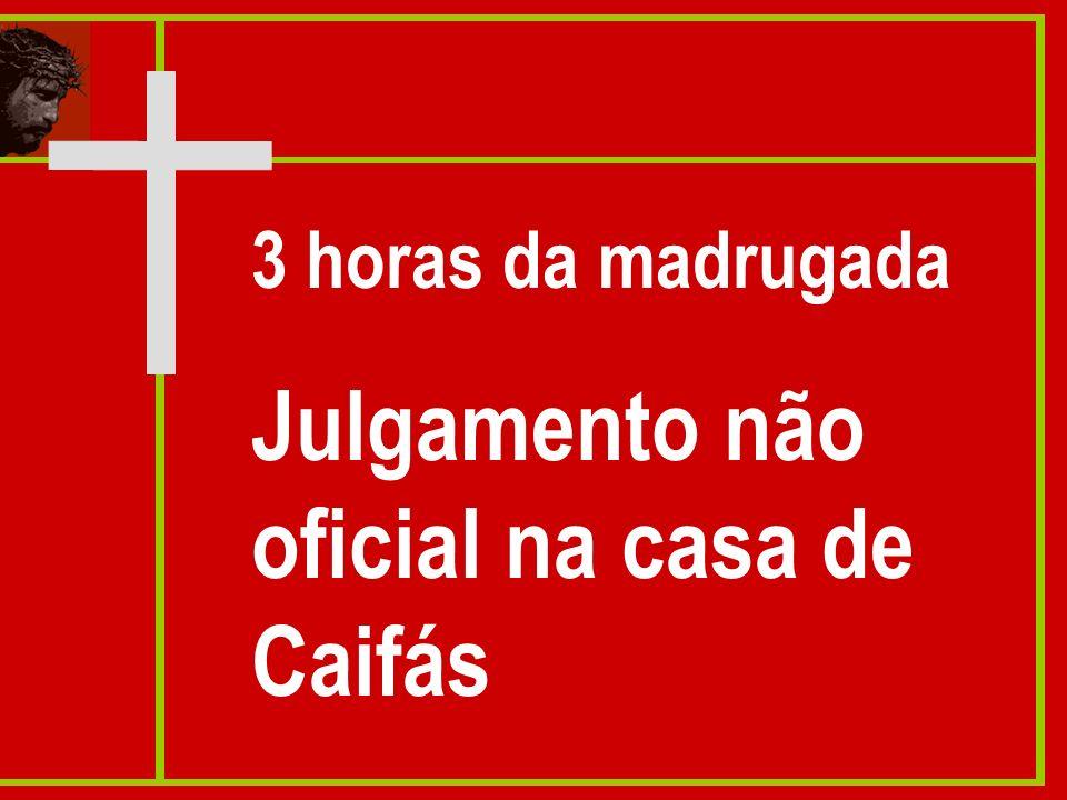 Julgamento não oficial na casa de Caifás
