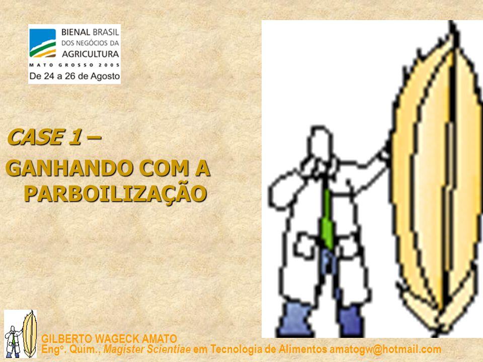 CASE 1 – GANHANDO COM A PARBOILIZAÇÃO