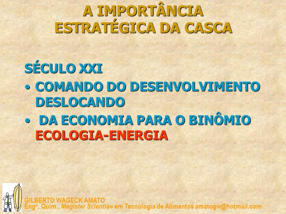 A IMPORTÂNCIA ESTRATÉGICA DA CASCA