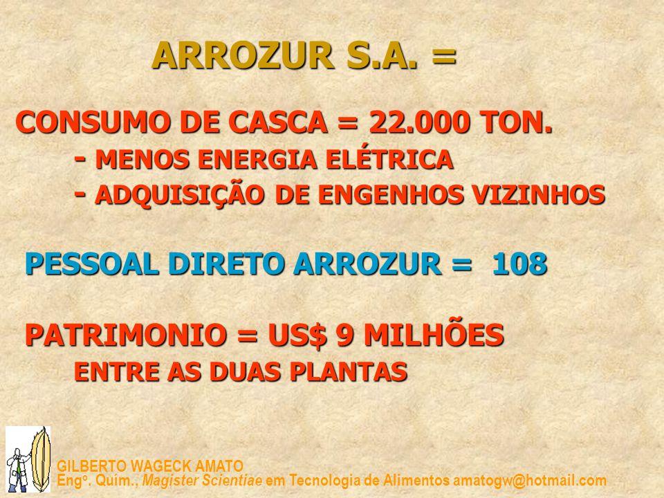 ARROZUR S.A. =