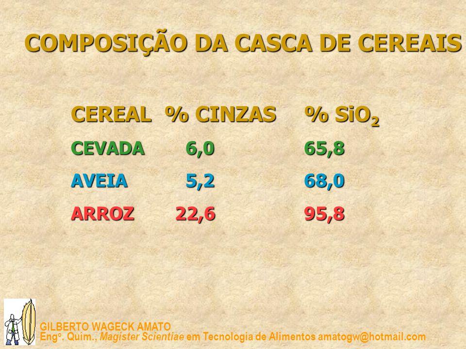 COMPOSIÇÃO DA CASCA DE CEREAIS