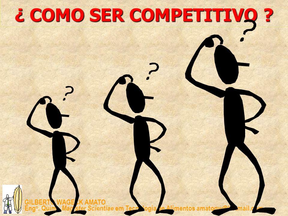 ¿ COMO SER COMPETITIVO