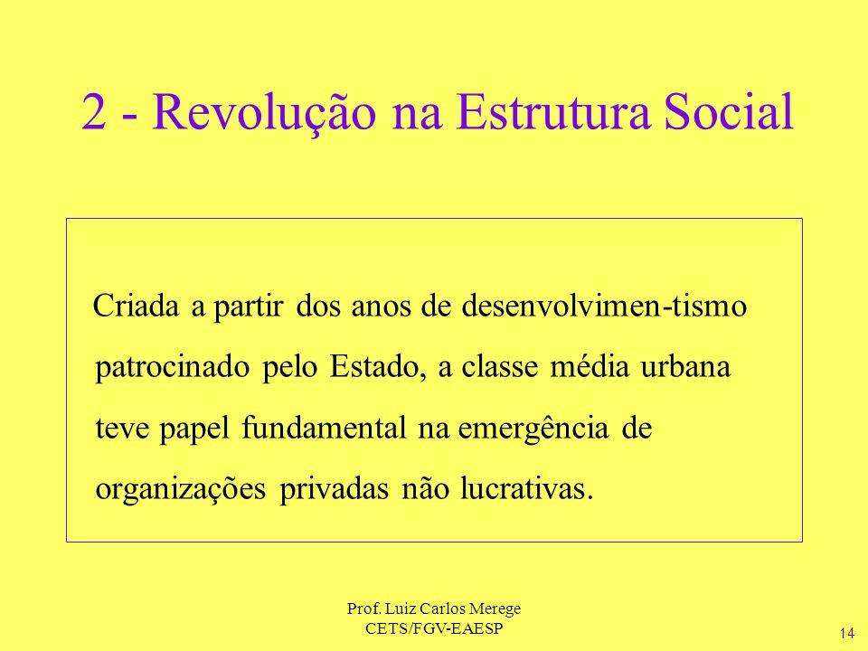 2 - Revolução na Estrutura Social