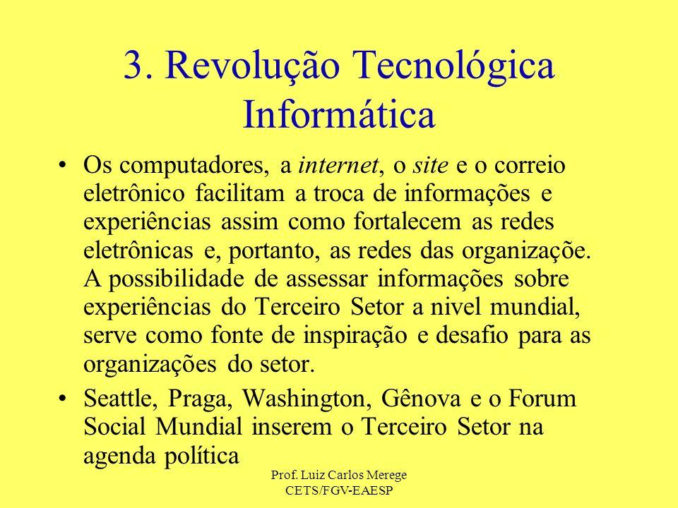 3. Revolução Tecnológica Informática