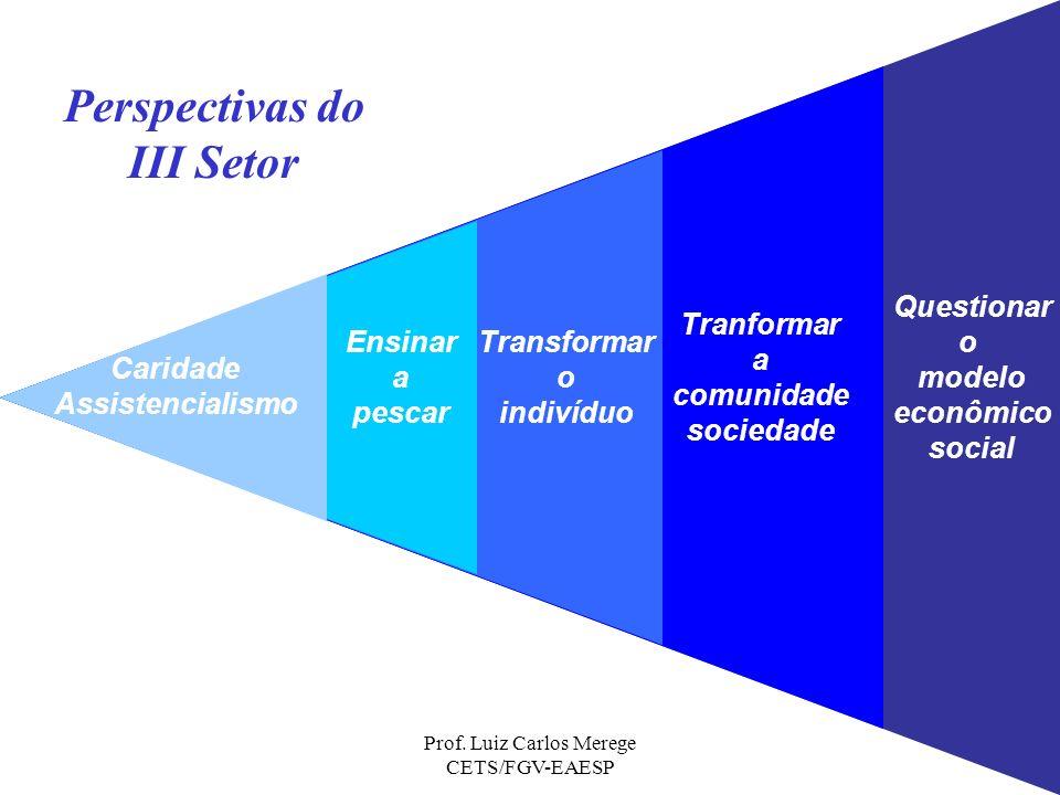 Prof. Luiz Carlos Merege CETS/FGV-EAESP