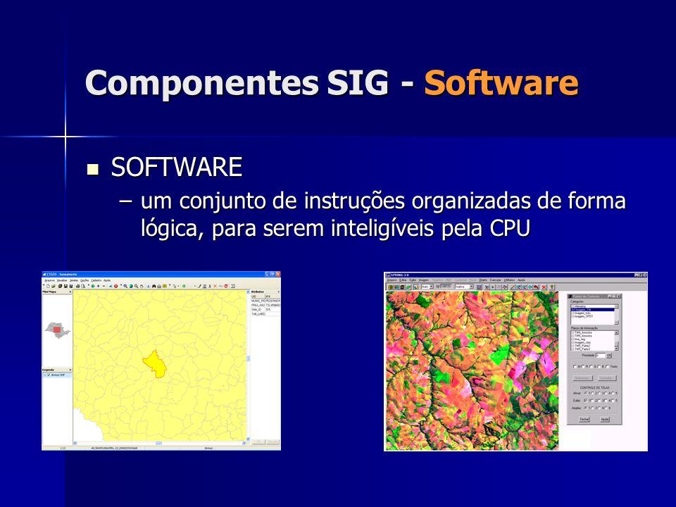 Componentes SIG - Software