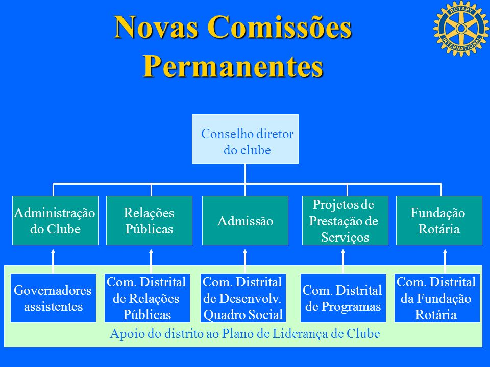 Novas Comissões Permanentes