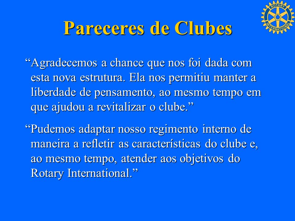 Pareceres de Clubes