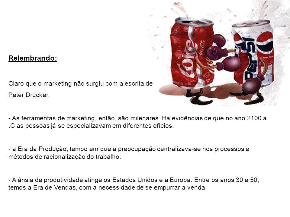 Relembrando: Claro que o marketing não surgiu com a escrita de