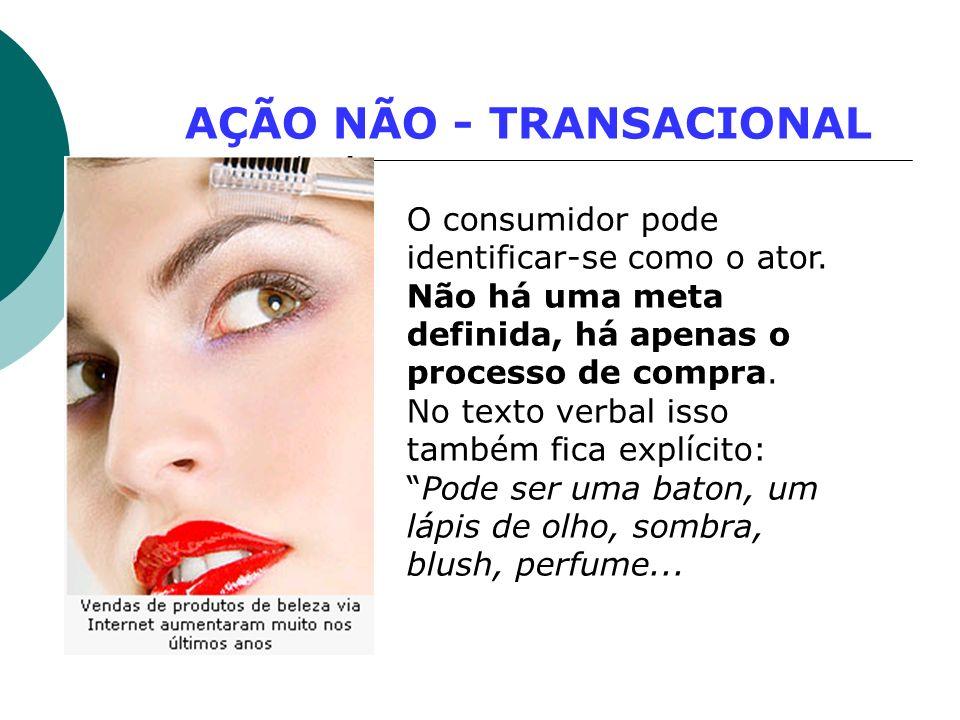 AÇÃO NÃO - TRANSACIONAL