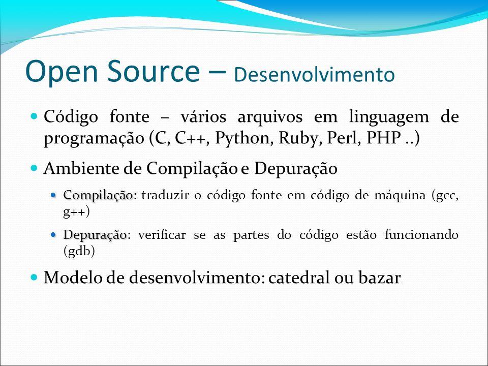 Open Source – Desenvolvimento