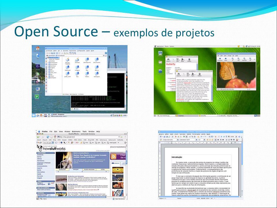 Open Source – exemplos de projetos