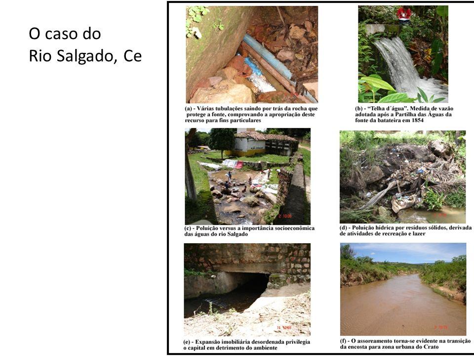 O caso do Rio Salgado, Ce