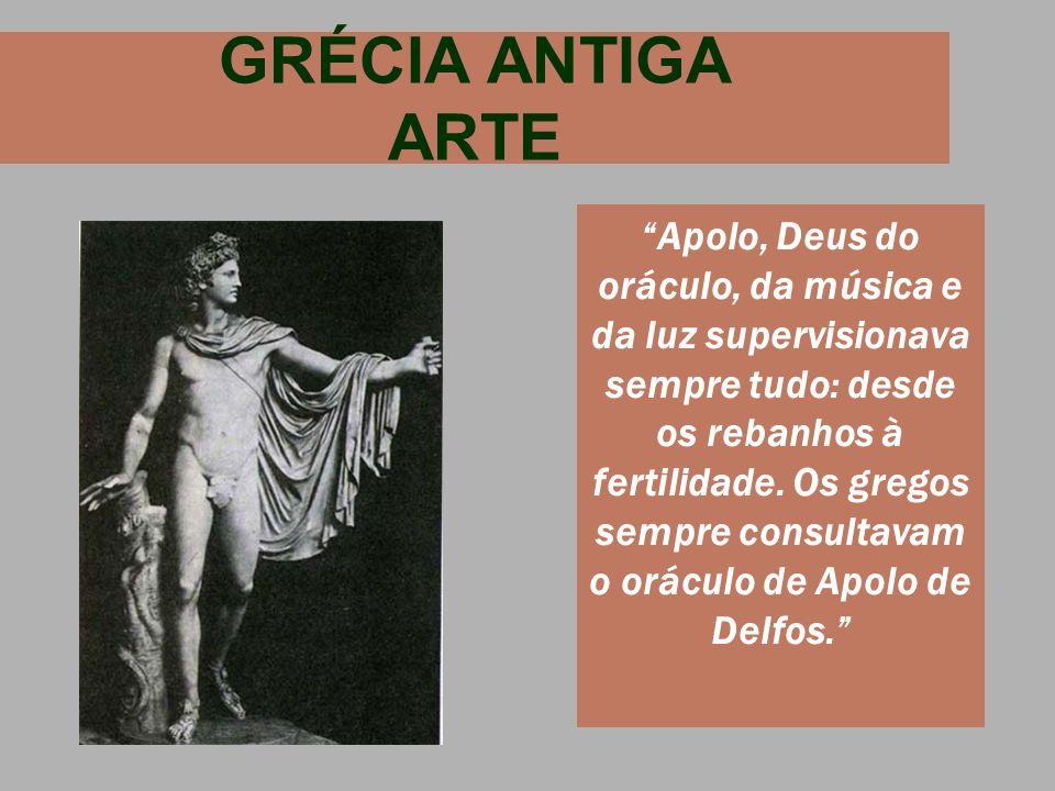 GRÉCIA ANTIGA ARTE
