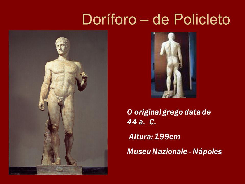 Doríforo – de Policleto