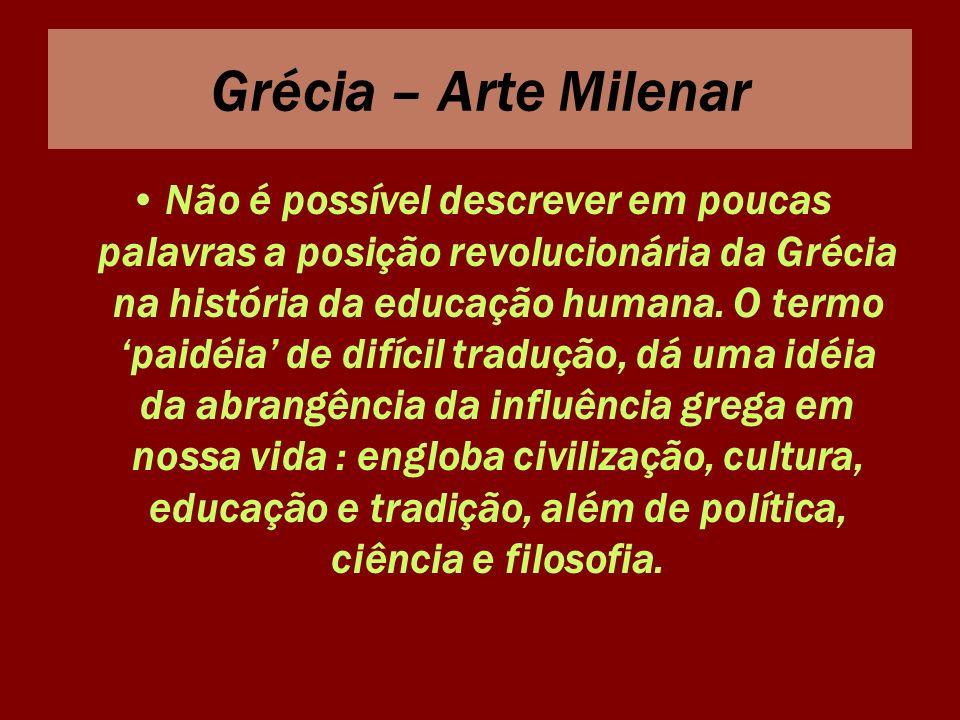 Grécia – Arte Milenar