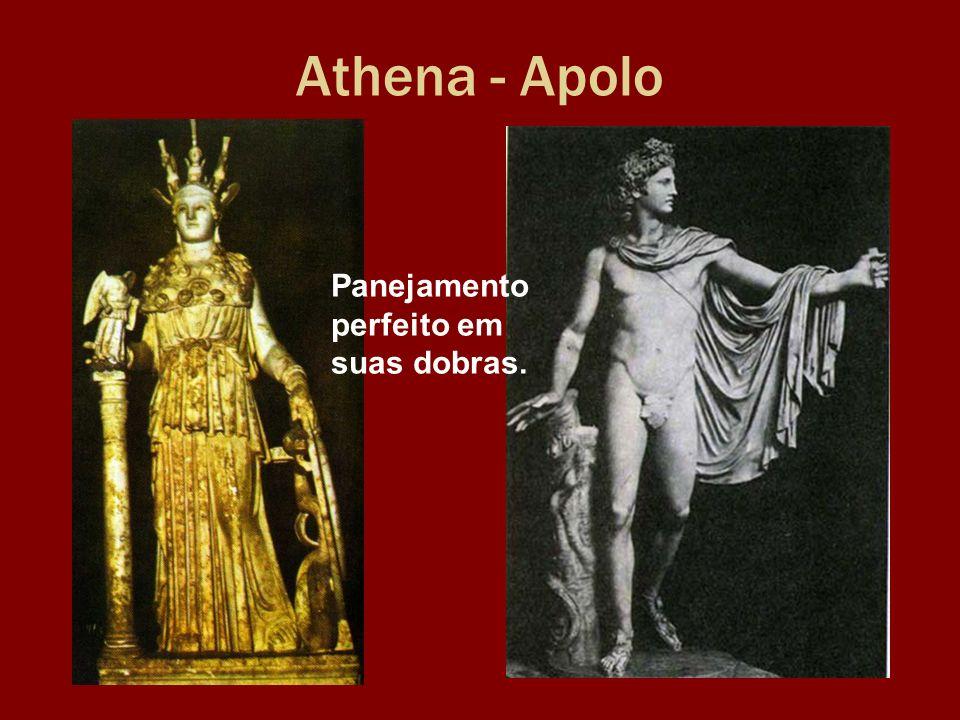 Athena - Apolo Panejamento perfeito em suas dobras.
