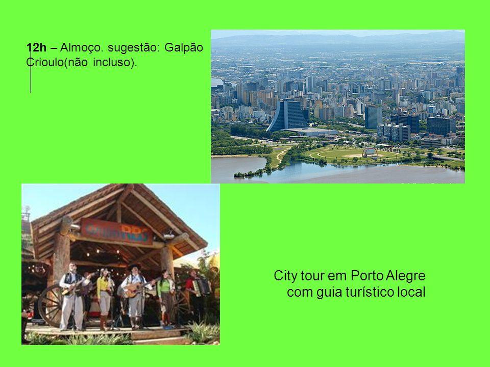 City tour em Porto Alegre com guia turístico local