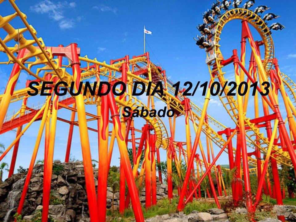 SEGUNDO DIA 12/10/2013 Sábado