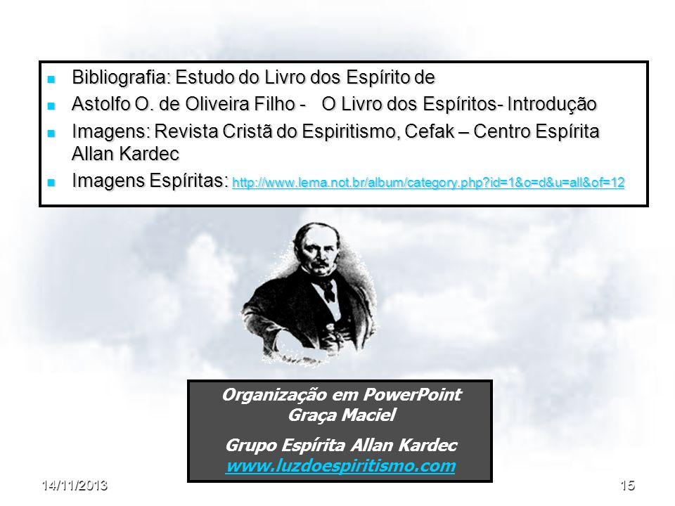 Organização em PowerPoint Graça Maciel