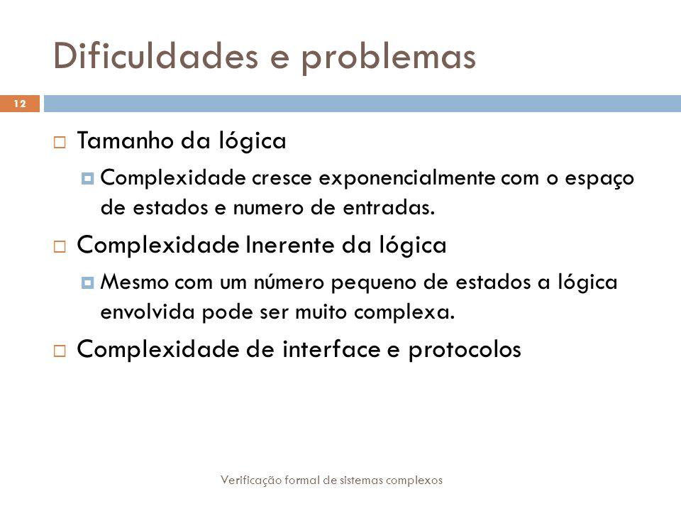 Dificuldades e problemas