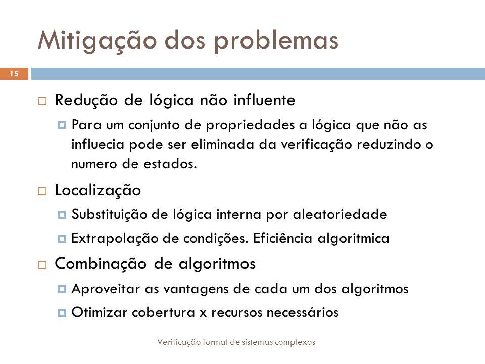 Mitigação dos problemas