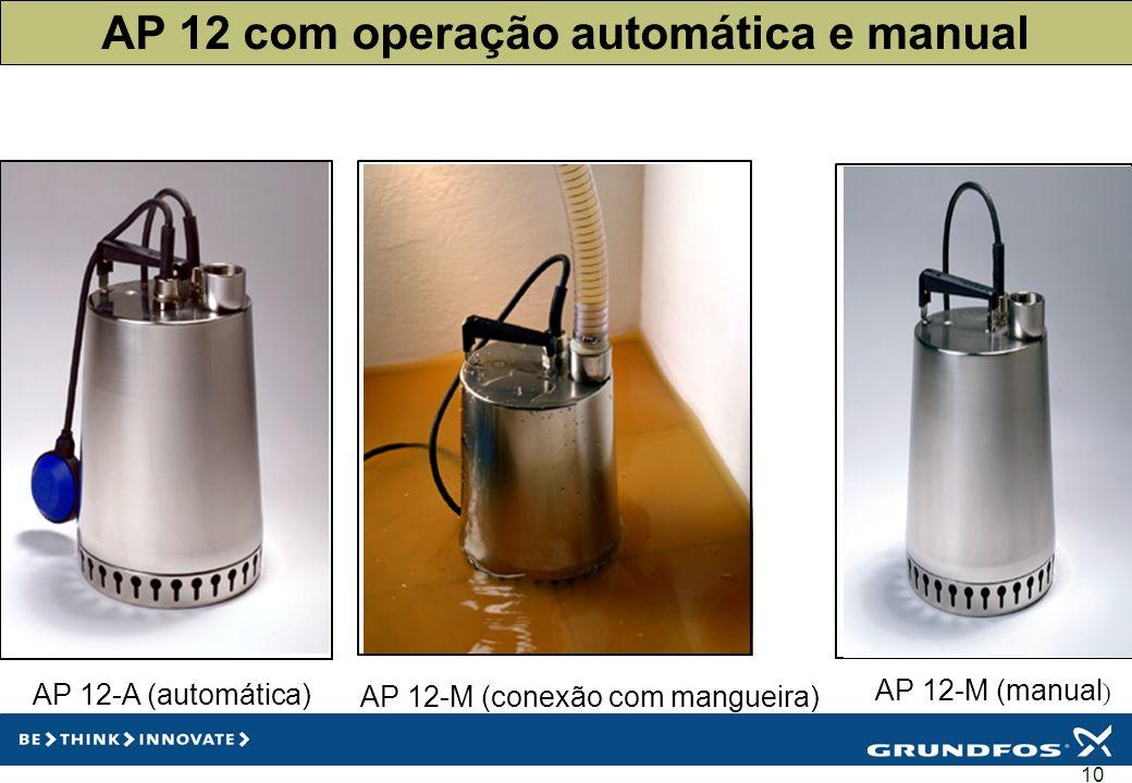 AP 12 com operação automática e manual