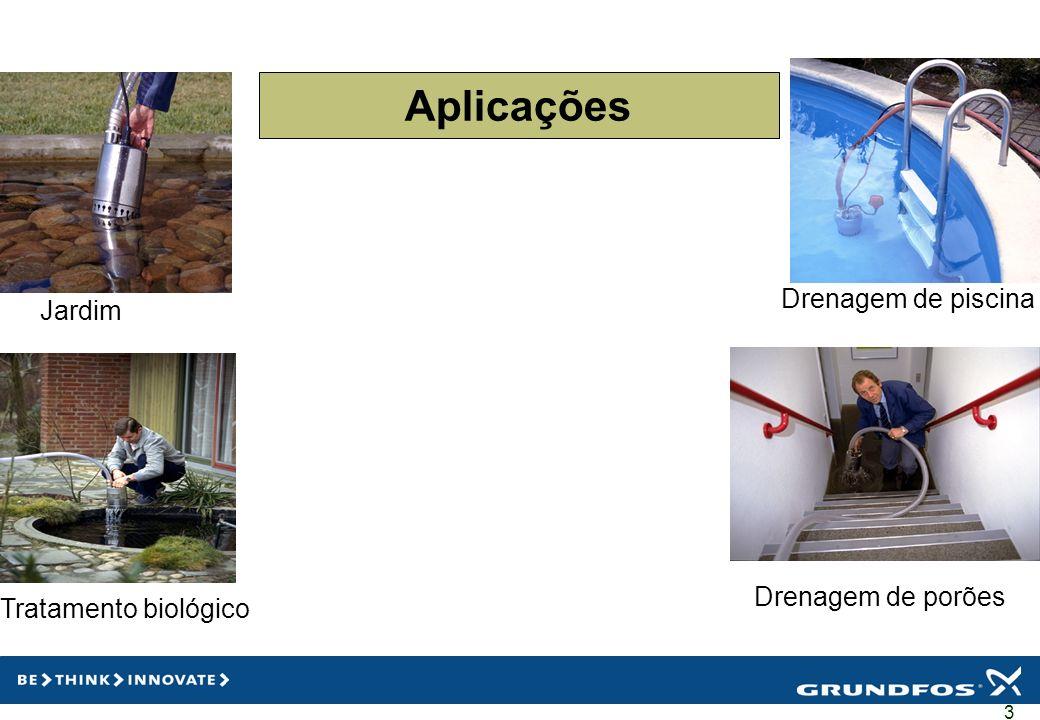 Aplicações Drenagem de piscina Jardim Drenagem de porões