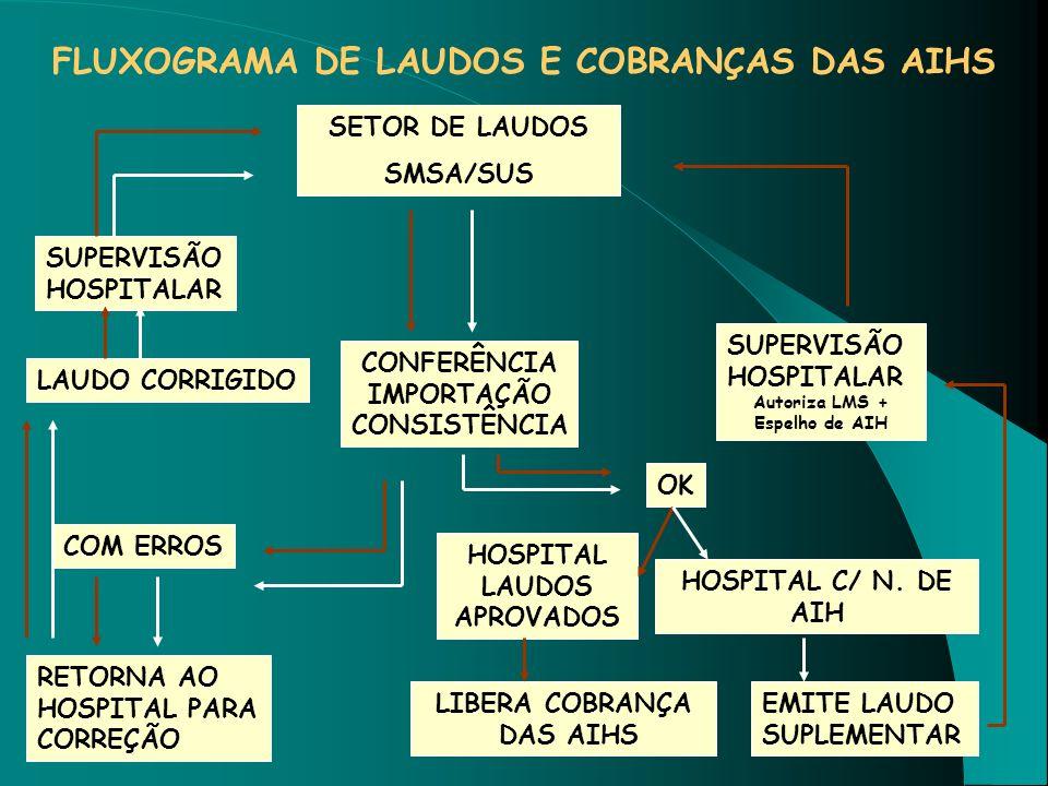 Autoriza LMS + Espelho de AIH HOSPITAL LAUDOS APROVADOS