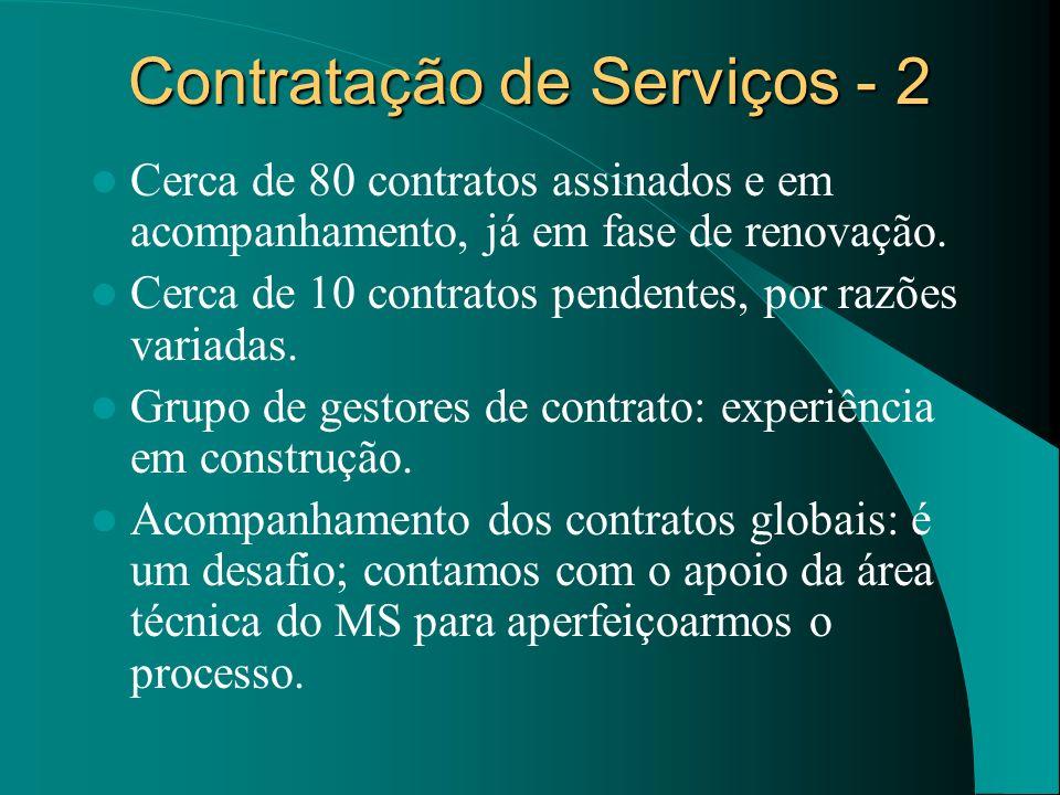 Contratação de Serviços - 2
