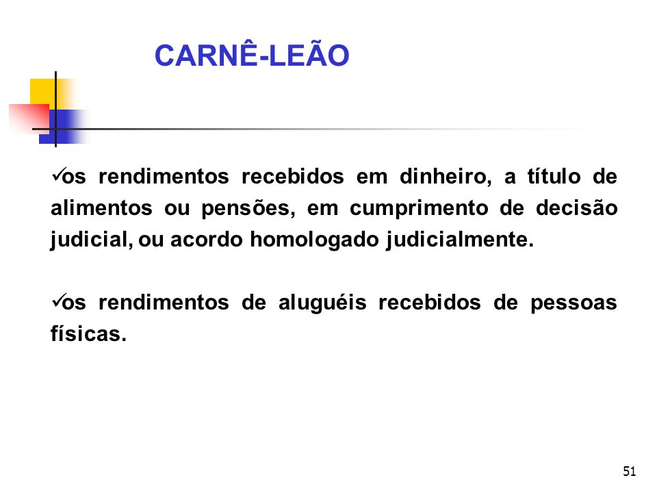 CARNÊ-LEÃO
