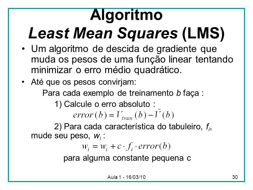 Algoritmo Least Mean Squares (LMS)