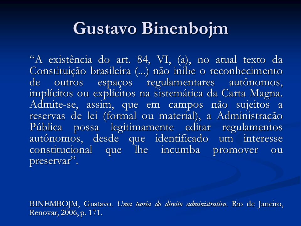 Gustavo Binenbojm