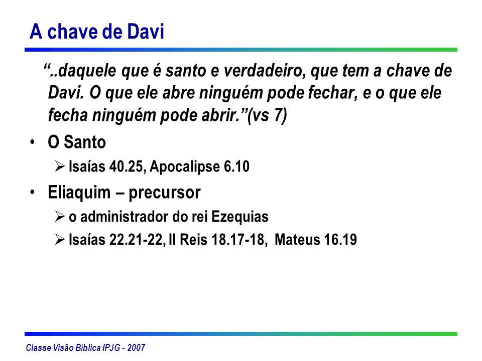 A chave de Davi