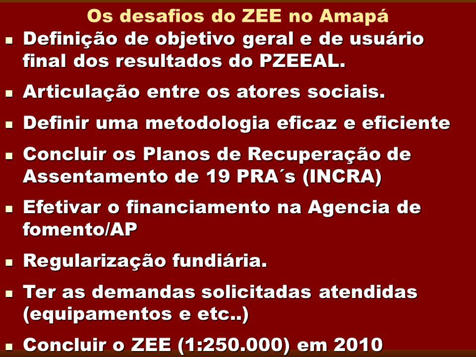 Os desafios do ZEE no Amapá