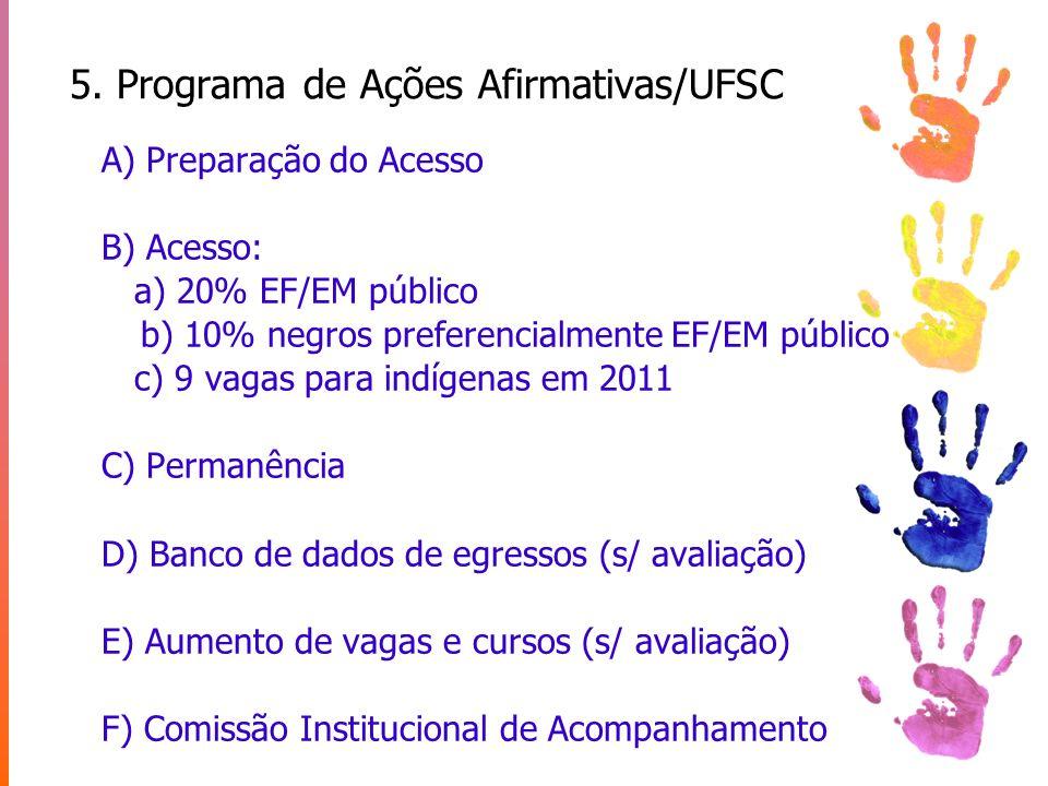 5. Programa de Ações Afirmativas/UFSC