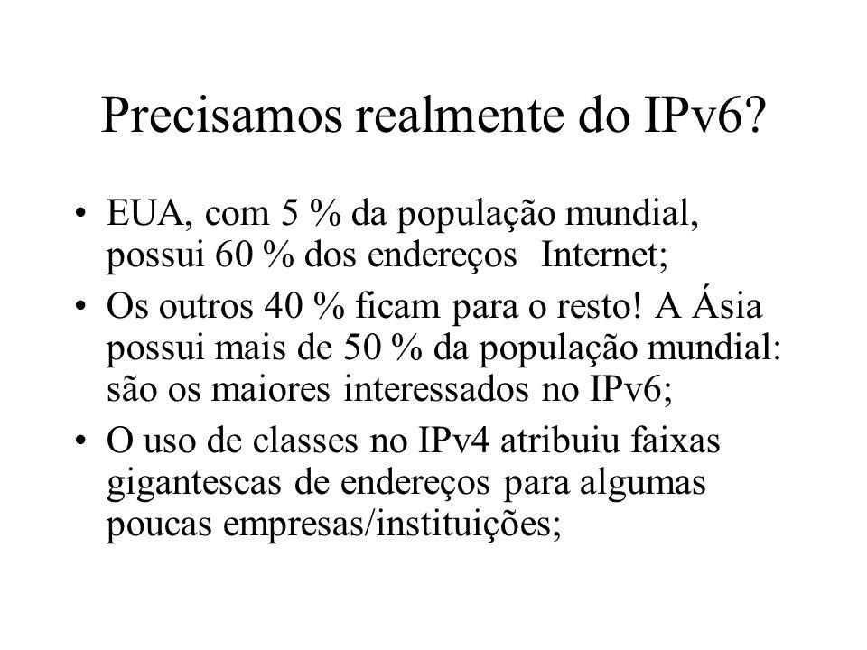 Precisamos realmente do IPv6