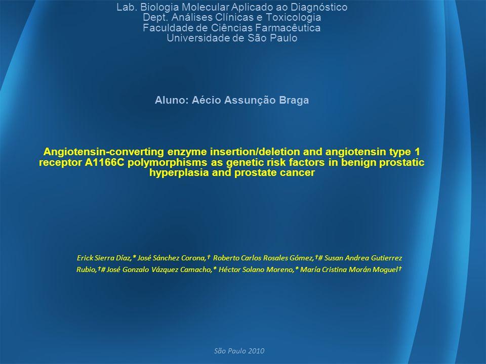 Lab. Biologia Molecular Aplicado ao Diagnóstico Dept