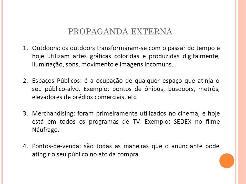 PROPAGANDA EXTERNA