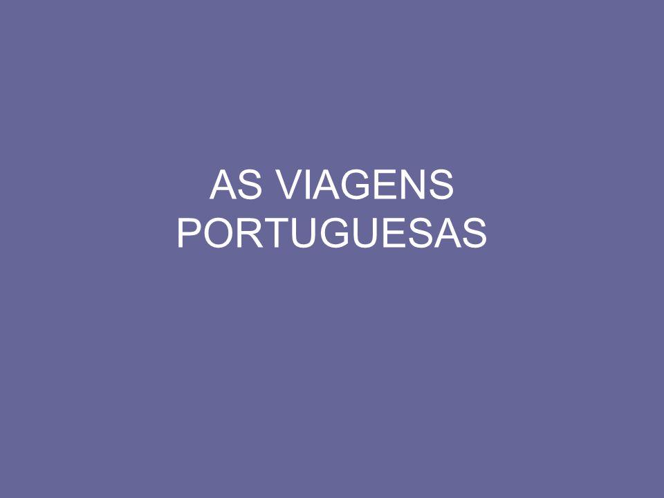 AS VIAGENS PORTUGUESAS