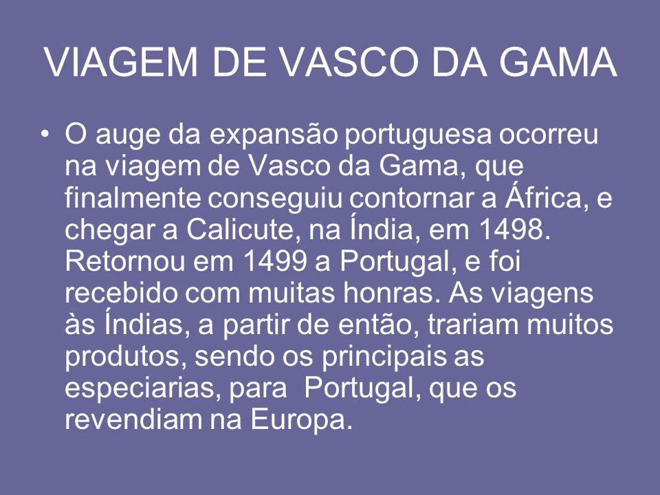 VIAGEM DE VASCO DA GAMA