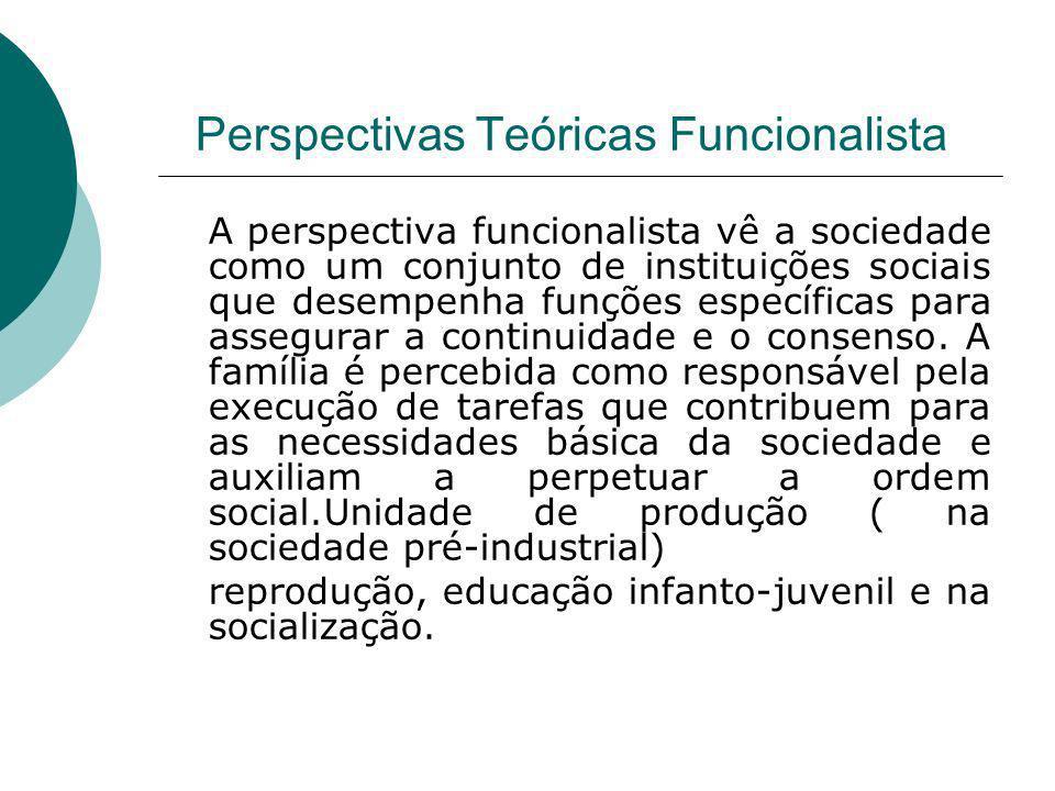 Perspectivas Teóricas Funcionalista
