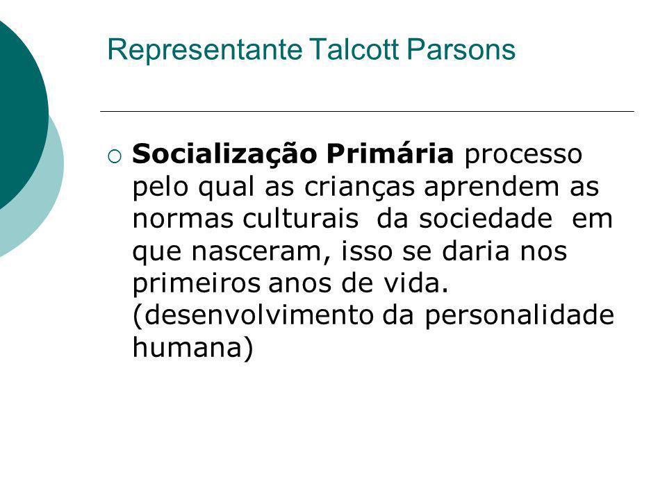 Representante Talcott Parsons